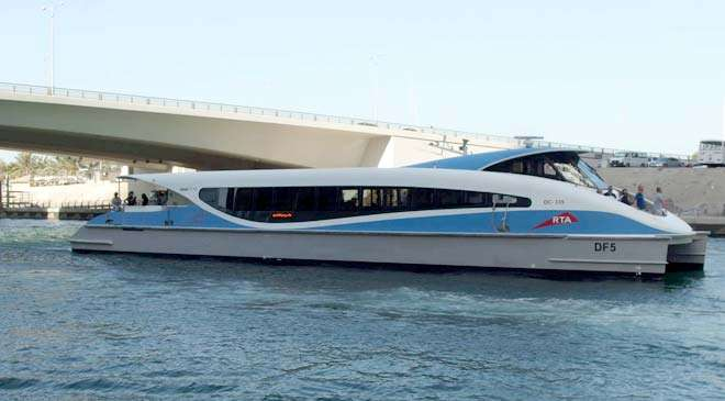 Dubai water transportation