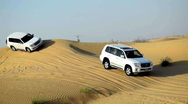 4x4 desert safari in Dubai