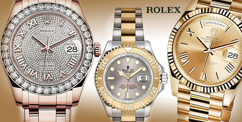 Rolex Watches in Dubai